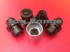 Genuine Land Rover Range Rover Sport L494 Locking Wheel Nut Kit Lock Nuts, Black