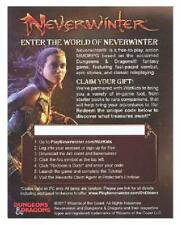 4x Neverwinter MMORPG Redeemable Code (PC Only) Icons of the Realms Tomb of