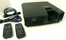 ViewSonic PJL7211 XGA 2200 Lumen LCD Video Projector Built-In Speaker +2 Remotes