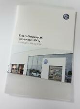 VW Remplacement Scheckheft Servicebook Serviceplan Jetta Golf Passat cc EOS