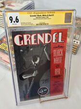 Dark Horse Grendel Black White and Red #1 CGC 9.6 Signed Matt Wagner Tim Sale