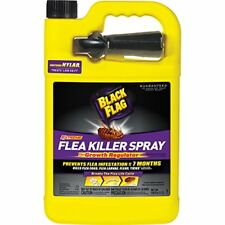 1Gal Black Flag Flea Tick Killer Spray With Growth Regulator For Home Treatment