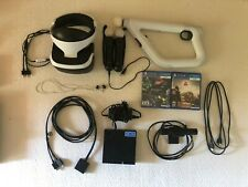 PSVR + Move Controllers + AIM Controller + Farpoint