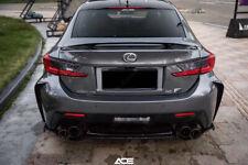 Carbon Fiber LX Style Sport Rear Spoiler Wing For 2014-2017 Lexus RC F