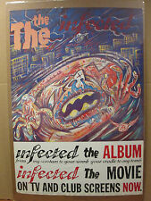 vintage 1986 The Infected original poster The Movie The Album 5988