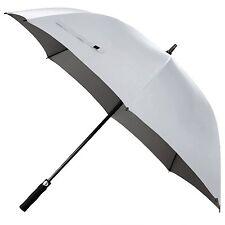 Rainlax Windproof Golf Umbrella 62 inch Automatic Open Large Sun Umbrellas White