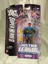 2007-JLU-SINESTRO FIGURE -PURPLE DCU CARD MISP -EXCELLENT CONDITION