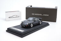#IG0940 - Ignition Model Porsche 911 Turbo (930) - Schwarz - BBS Felgen - 1:43
