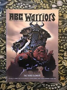 2000AD Graphic Novel ABC Warriors THE THIRD ELEMENT Pat Mills Henry Flint