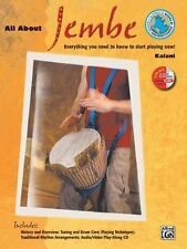 All About Jembe: Everything You Need to Know to Start Playing Now!, Book & Enhan