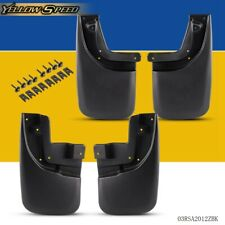 4pcs Rear & Front For 2005-2015 Toyota Tacoma Mud Flaps Mud Guards Splash Guards