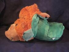 "Flipazoo Grizzly Bear ~ Alligator 2 in 1 Plush 16"" Flip A Zoo Pillow Pet Buddy"