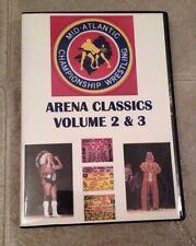 ***MACW NWA Arena Wrestling 2 DVD Ric Flair Mid Atlantic Mulligan Wahoo WWE***