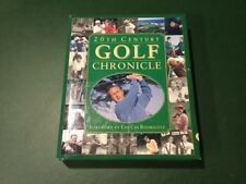 20th Century Golf Chronicle HC Book (w/Dust Cover)