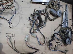 BMW E28 525e 528i 533i 535i M535i Front Window Power Wiring Kit with Engines