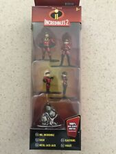 Jada Nano Figures Disney 5 pack Incredibles 2 Mr Incredible Dash Metal Jack-Jack