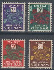 VIETNAM (SOUTH) 1955 POSTAGE DUES PART SET MINT (x4) (ID:903/D59681)