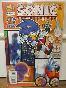 SONIC The HEDGEHOG Comic Book #163 August 2006 First Edition Bagged Boarded