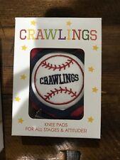 Crawlings Knee Pads Baseball Brand New Baby Toddler