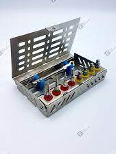 Dental Implant Kit Bone Compression 4mm Rachet Hex Key Set With Cassette