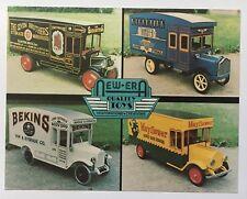 NJ Postcard Lambertville New Jersey New Era Quality Toys Jumbo Postcard trucks