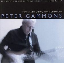 Never Slow Down, Never Grow Old by Peter Gammons (CD, 2006) SIGNED! LIKE NEW