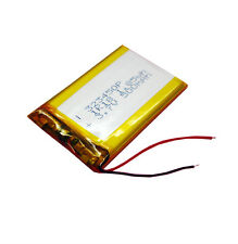 3.7V 500 mAh Rechargeable Polymer Lithium cell 323450 for bluetooth mp4 reader