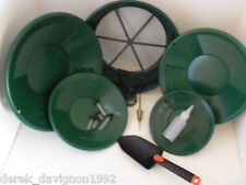 INTERNATIONAL Green Starter Kit Gold Classifier Screen & Gold Pan Panning Kit