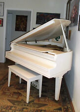 "Antique Baldwin ""R� Baby Grand Piano 5'8"" Serial 16535 build in 1908-1910 White"