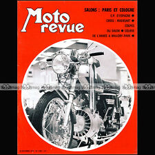 MOTO REVUE N°1997 COUPE DE L'AVENIR ★ HERCULES WANKEL W 2000 ★ SALON PARIS 1970