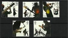 Qe11 2006 belle usate SG 2667/71 Europa suoni del Regno Unito Stamps fu Set