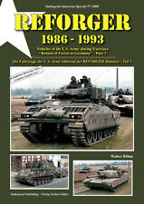 TANKOGRAD NO 3008 REFORGER 1986-1993 VEHICLES OF THE U.S. ARMY DURING REFORGER E