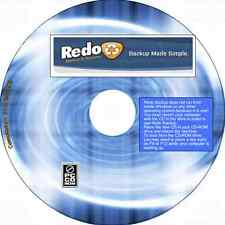 Easy Backup, Recovery & Bare Metal Restore Utility CD works with Windows & Linux