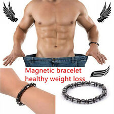 Biomagnetism Round Magnetic Black Stone Magnetic Bracelet Magnetic Weight Loss