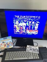 The Flintstones- Grandslam - Disk Version - Amstrad CPC 6128  - Tested