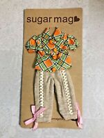 Sugar Mag Or top Khaki Pants fit blythe 1/6 Riley Betsy Licca Azone momoko