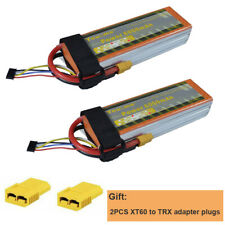 2pcs Youme 4S 14.8V 6000mAh Lipo Battery 50C 100C for Drone Helicopter Airplane