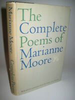 Complete Poems Marianne Moore 1st Edition Poetry First Printing Pulitzer Prize