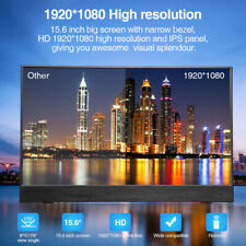 """EYOYO 15.6"""" IPS Monitor 1920×1080 HDR 5000mA Battery 2.5h Standby Time for X-box"""
