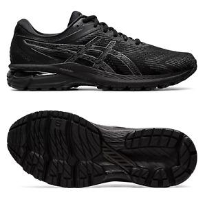 Asics GT-2000 8 Laufschuhe (2E) Wide Schwarz Schuhe breiter Leisten Weite