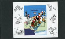 Redonda 1984 Disney Scott# Winter Fun Mint Nh