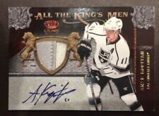 2011-12 Crown Royal All The Kings Men Materials Patches Auto #4 Anze Kopitar /25