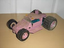 1/24 Custom Homemade 4x4 mud runner wagon 4 junkyard diorama parts Purple pink