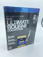The Ultimate Bourne Collection On Blu-Ray - Brand New And Sealed - Matt Damon