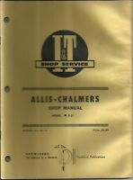 # AC18 I&T Shop Service Repair Manual for Allis Chalmers Model D21 D-21 Tractor