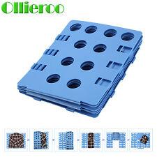 Ollieroo Adult Dress Shirt Clothes Flip Fold Folder Board Laundry Organizer Blue