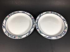"""Set of 2 Dansk Bistro Lillihavn 8-3/4"""" Salad Plates"""