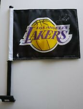 Kobe Bryant Signed Autographed Flag Los Angeles Lakers.