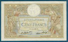 FRANCE - 100 FRANCS L.O MERSON Fay n° 24. 8. du 4-2-1929. E. en TTB   W.24089