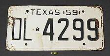 TEXAS 1959 antique license plate